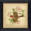 House Finch Bird Framed Wall Art