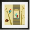 House with a View Framed Art Print