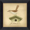 House Wren Bird Framed Wall Art