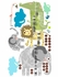How Tall Am I Growth Chart Fabric Wall Decals