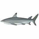 Huge Gray Sea Shark Wall Stickers