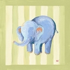 Hugh the Elephant Canvas Reproduction