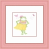 Hula Froggy Framed Lithograph