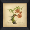 Hummingbird Bird Framed Wall Art