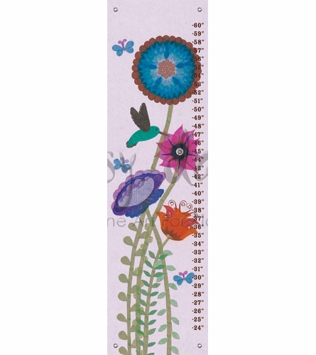 Hummingbird Garden Growth Chart