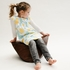 Hut Hut Wood Rocking Chair