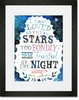 I Have Loved the Stars Framed Art Print