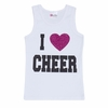 I Love Cheer Tank Top