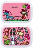 I Love Dogs Changeable Faceplate