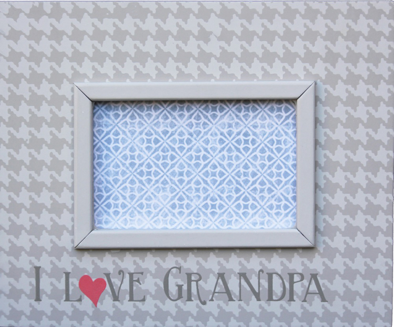 I Love Grandpa Picture Frame By Reesa Rosenberryrooms Com