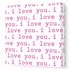 I Love You Canvas Wall Art