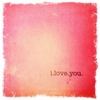 I Love You Canvas Wall Art - Red