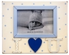 I Love You in Blue Picture Frame