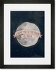 I Love You To The Moon Pink Framed Art Print