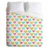 I Love You With All My Heart Duvet Cover