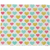 I Love You With All My Heart Fleece Throw Blanket