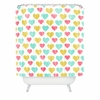 I Love You With All My Heart Shower Curtain