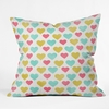 On Sale I Love You With All My Heart Throw Pillow