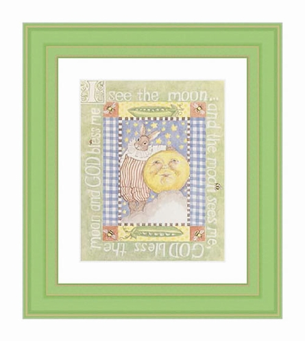 I See The Moon Framed Lithograph