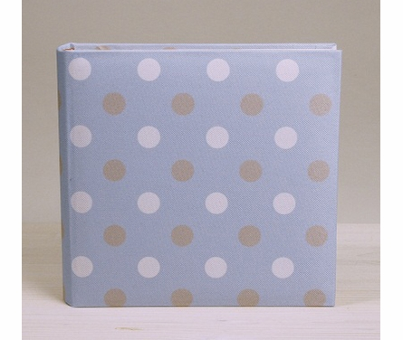 Ice Cream Dot Photo Album in Blue