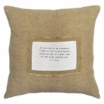 If You Live To Be A Hundred Patch Throw Pillow