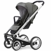 Igo Lite Stroller in Grey with Silver Frame