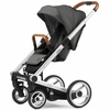 Igo Urban Nomad Stroller in Dark Grey with Silver Frame
