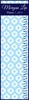 Ikat Block Personalized Growth Chart