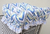Ikat Blue Shopping Cart Cover
