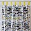 Ikat Citrus Boy Window Panels