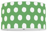 Ikat Dots Kelly Green