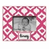 Ikat Fuchsia Picture Frame