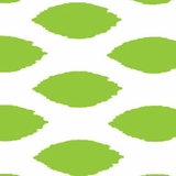 Ikat Green - Print Fabric