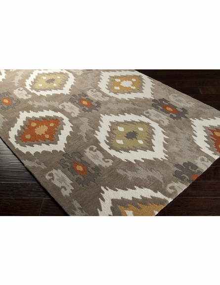 Ikat Mamba Rug in Taupe