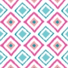 Ikat Pink Diamond Caden Lane Fabric by the Yard
