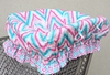 Ikat Pink Shopping Cart Cover