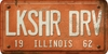 Illinois Custom License Plate Art