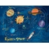 In Space Personalized Canvas Wall Art