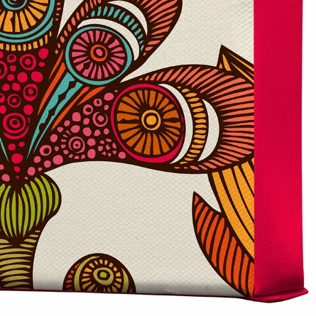 In The Garden Wrapped Canvas Art