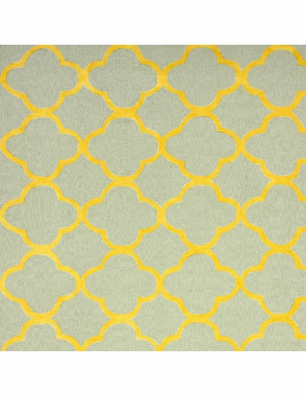 Ina Cotton Rug in Gold