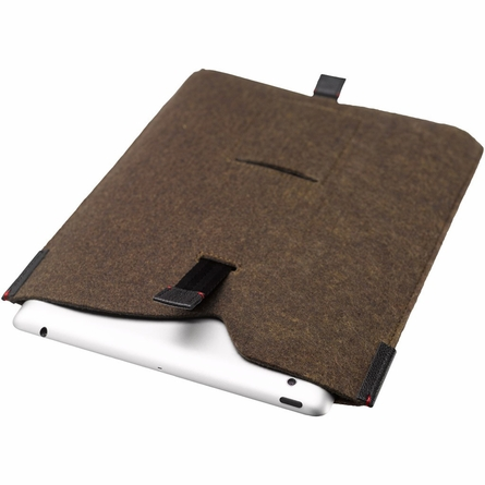 On Sale Index Tablet Sleeve in Heathered Olive