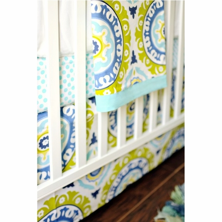 Indigo Summer Baby Bedding Set