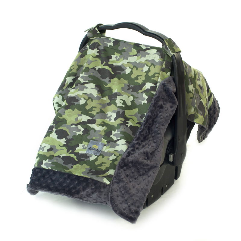 Infant Car Seat Canopy In Camo By Itzy Ritzy