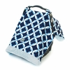 Infant Car Seat Canopy in Social Circle Blue