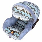 Infant Car Seat Cover in Baby Elton