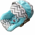 Infant Car Seat Cover in Baby Gabe