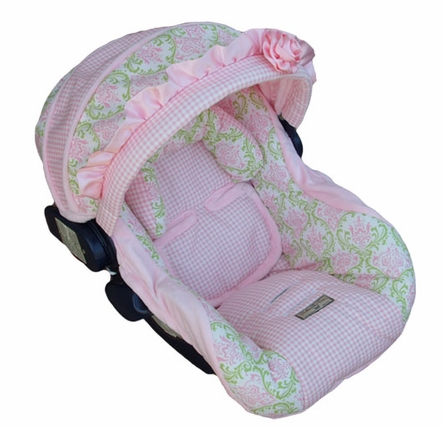 Infant Car Seat Cover in Baby Marie