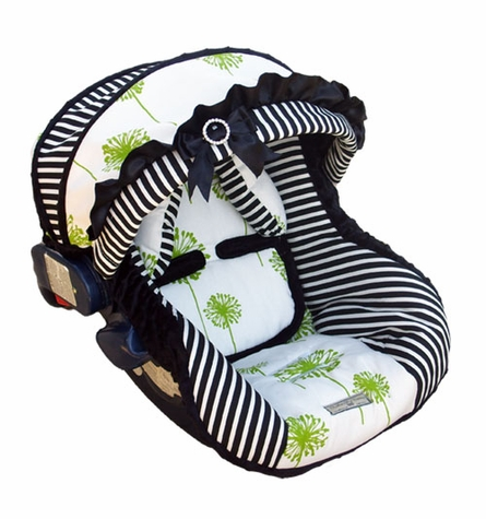 Infant Car Seat Cover in Baby Park Avenue