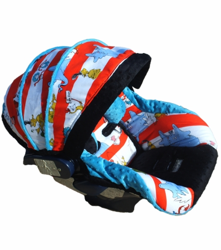 Infant Car Seat Cover in Baby Sam