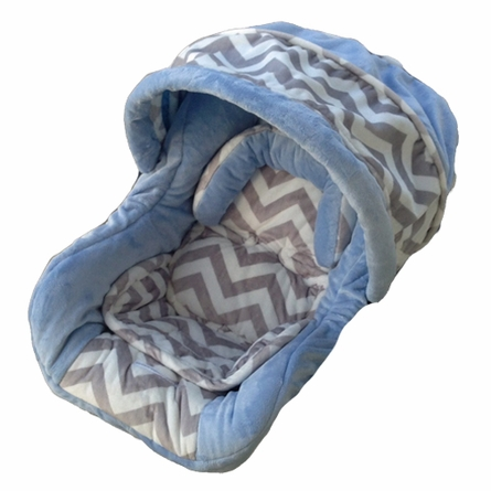 Infant Car Seat Cover in Baby Ziggy